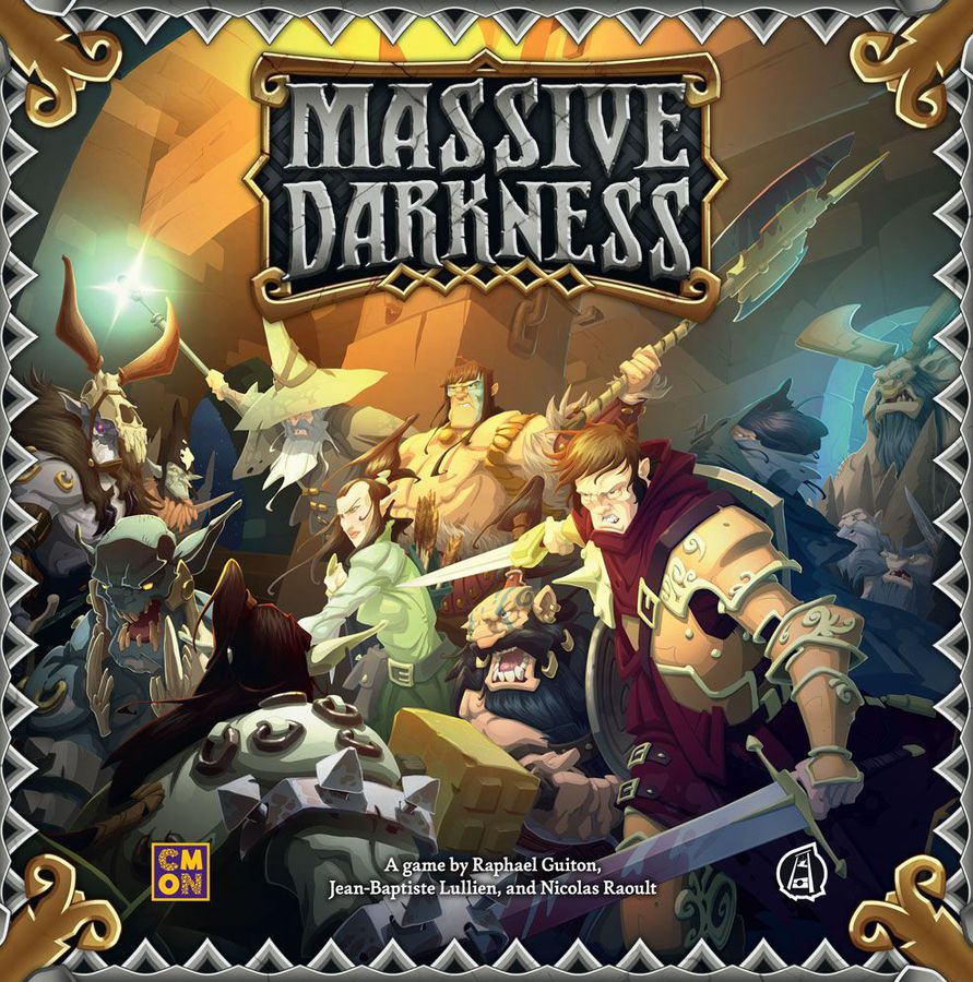 The Massive Darkness Game box