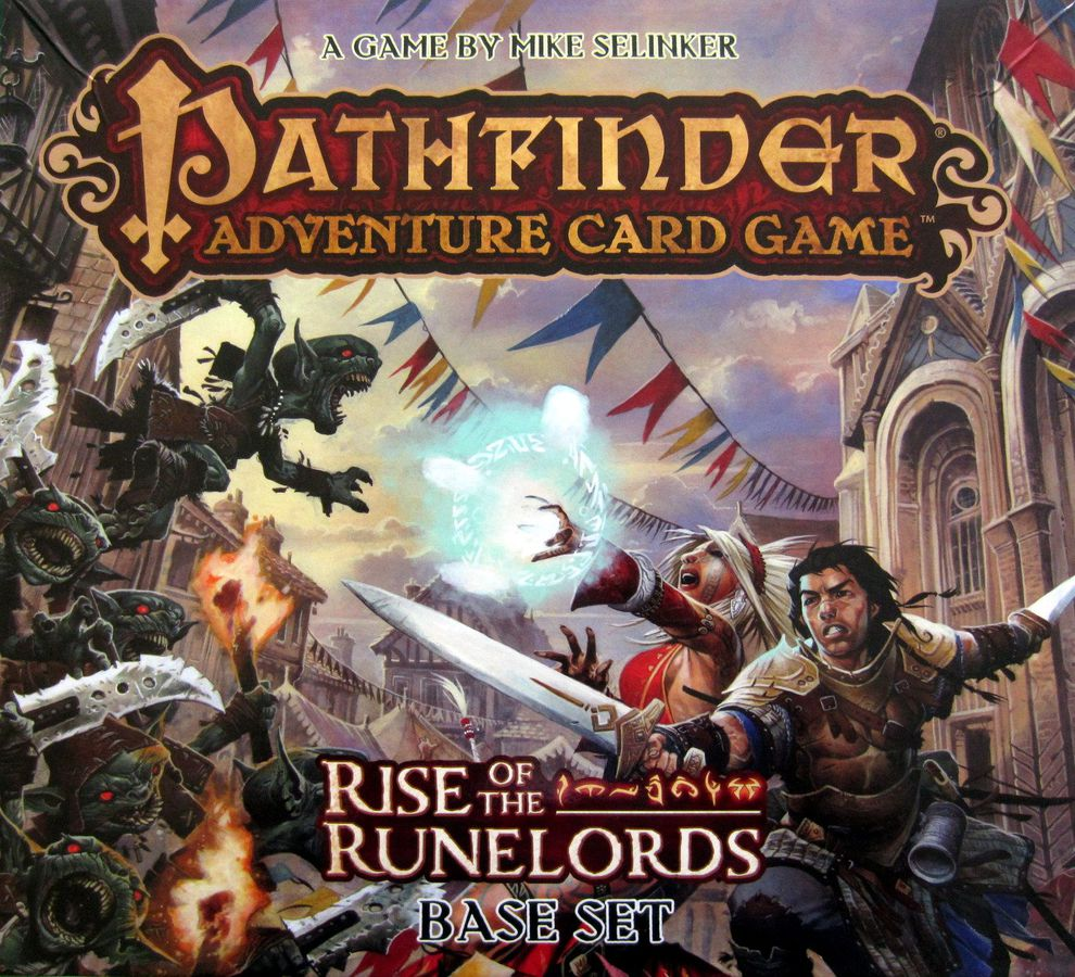The box for Pathfinder Adventure Card Game