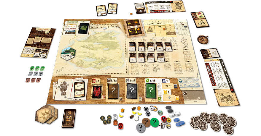 Map based fun for one in Robinson Crusoe
