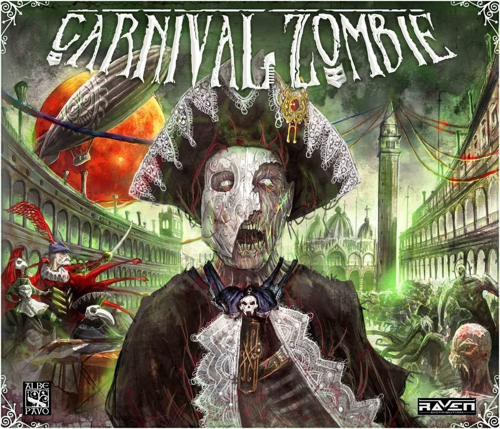 The box for Carnival Zombie