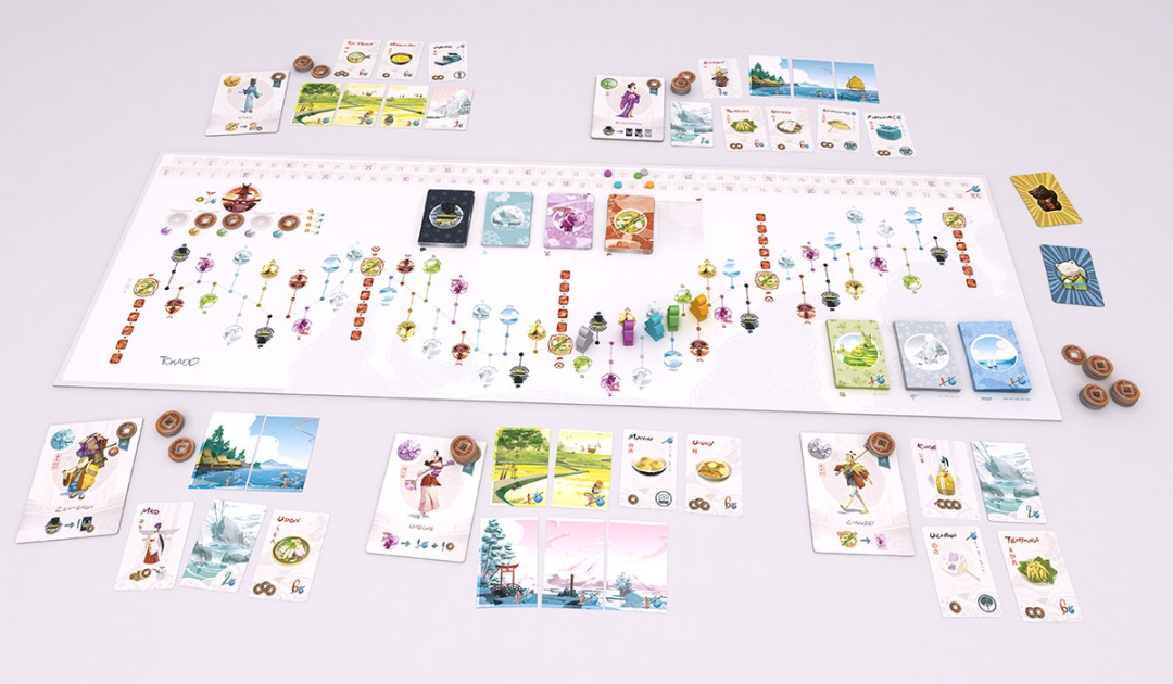 Tokaido is getting a makeover for its fifth anniversary - Tabletop Gaming