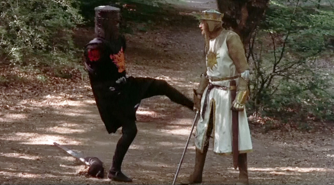 You can now buy miniatures of Monty Python and the Holy Grail's Black Knight  and King Arthur - Tabletop Gaming