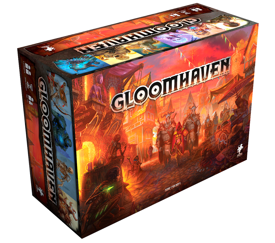 The Gloomhaven box