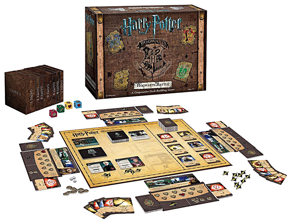 Harry Potter Hogwarts Battle Review Tabletop Gaming