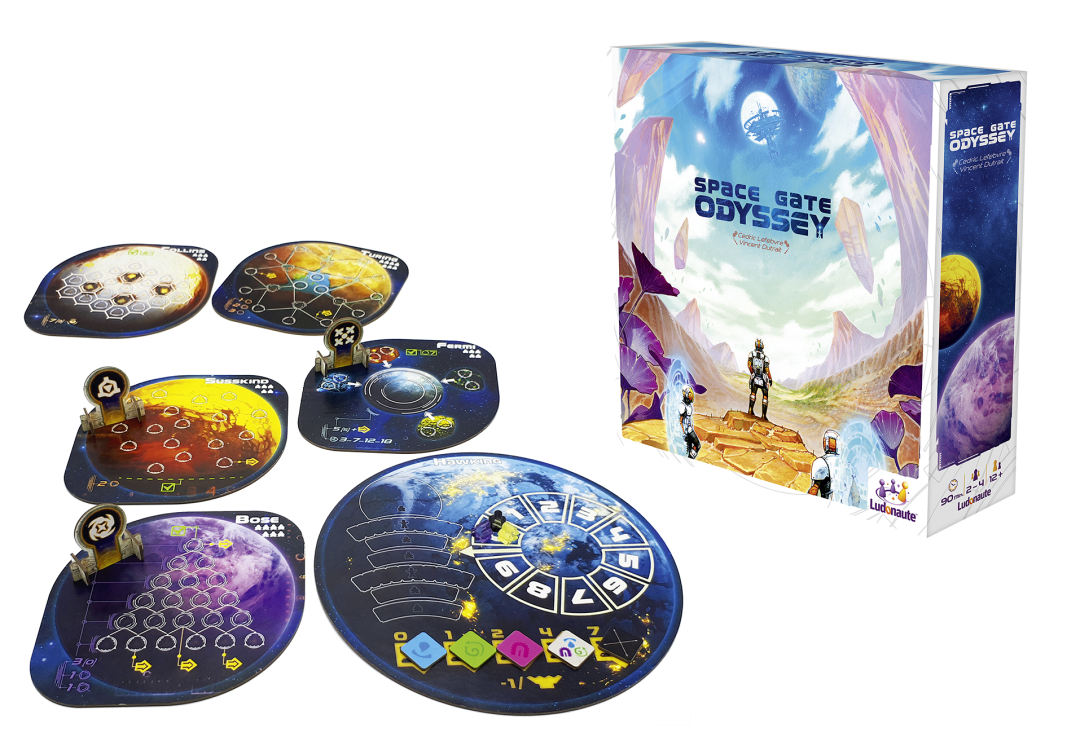 Space Gate Odyssey Review Tabletop Gaming