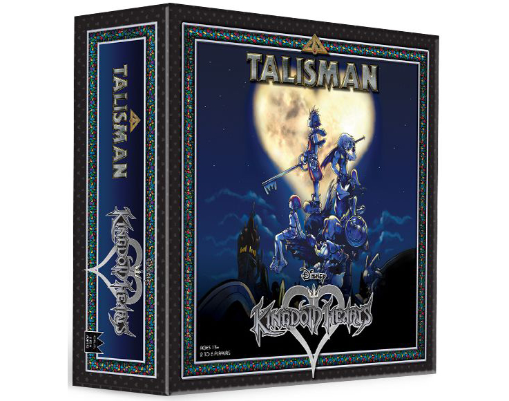 Kingdom Hearts Board Game Adds Talisman To Its Disney And Final