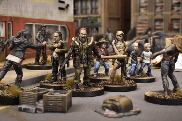 walking dead miniatures