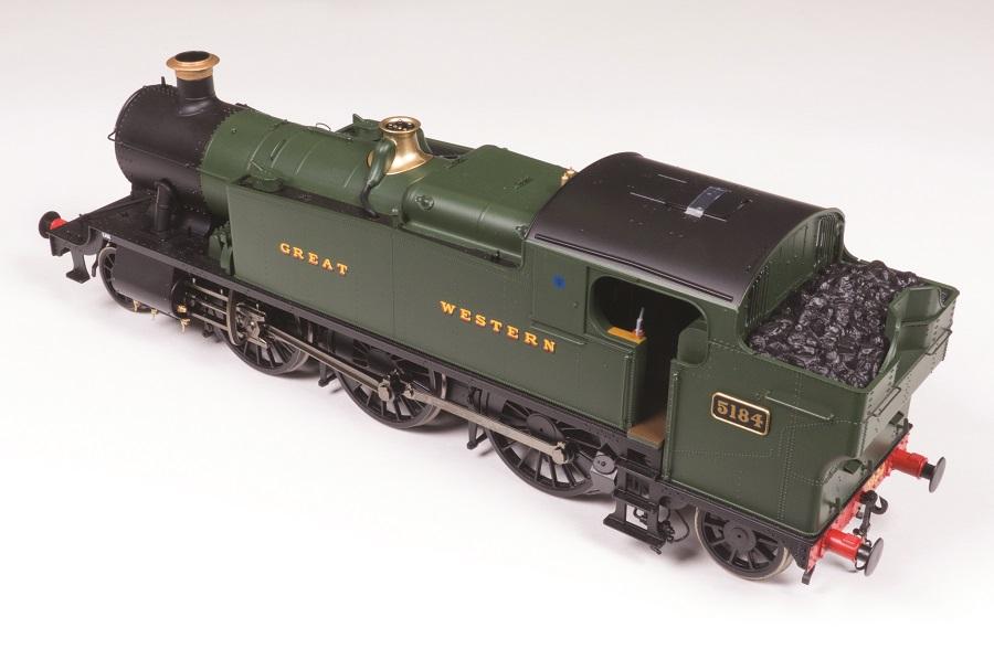 Heljan GWR 61XX 'Prairie' 2-6-2T rear