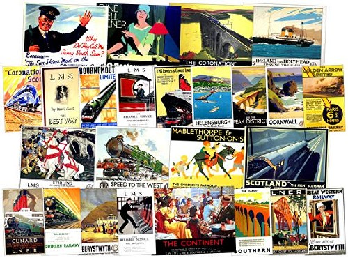 Sankey Scenics holiday posters