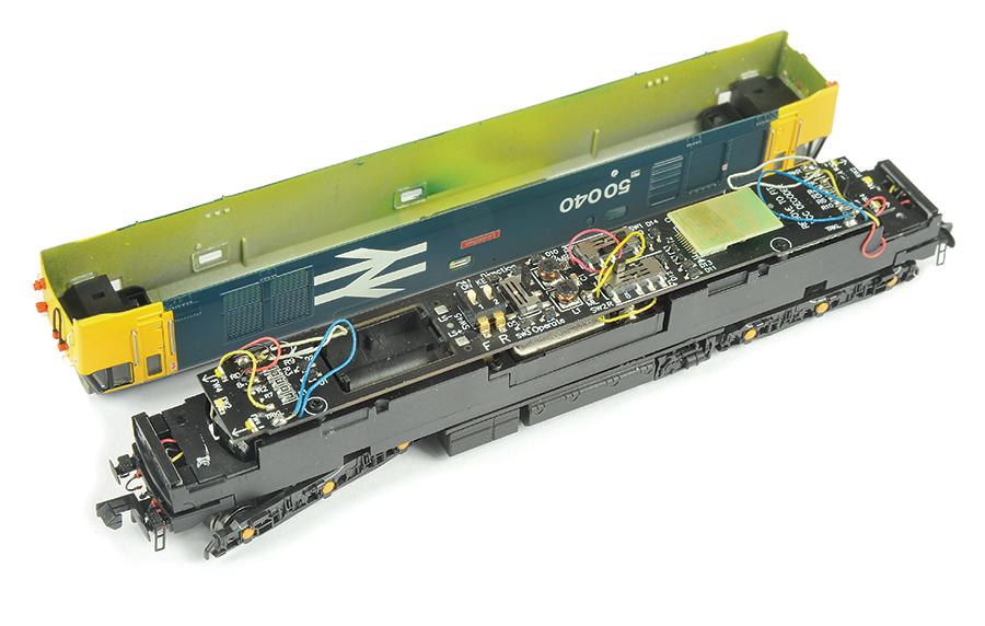 Dapol Class 50 review N gauge