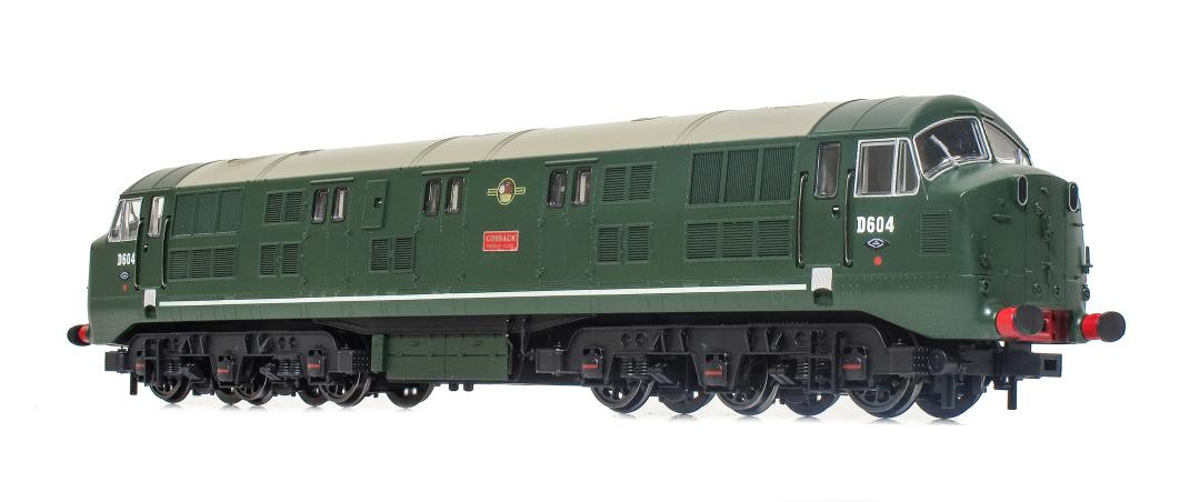 NEWS: Kernow Model Railway Centre 'Warship' - It's here