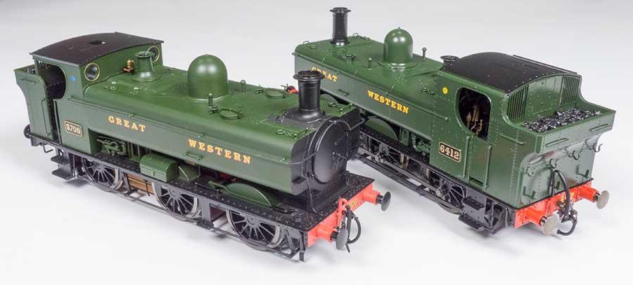Dapol 57XX/8750 & 64XX/74XX GWR 'Pannier' Tank locomotives