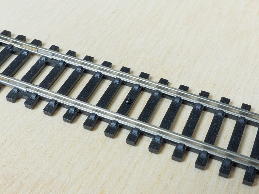 Hornby track fixings