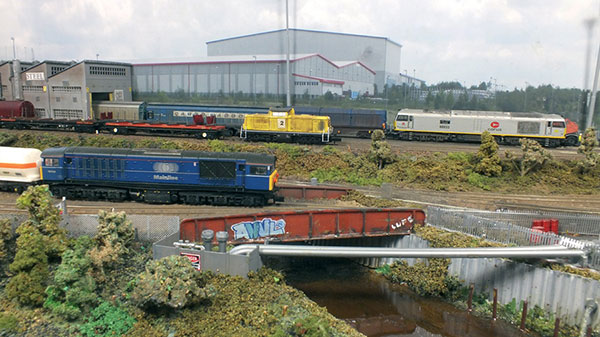 Imperial Yard in N gauge