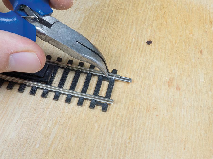 Hornby repair track fishplate