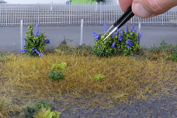 How to create overgrown grass