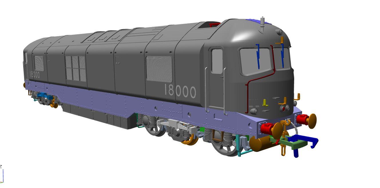 Rails of Sheffield 18000