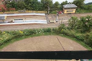 model railway field