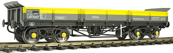 Dapol O gauge turbot wagon
