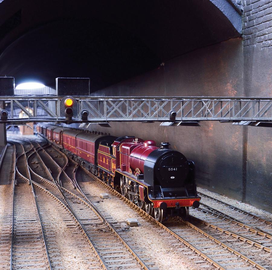 LMS Patriot Liverpool Lime Street station TPO train