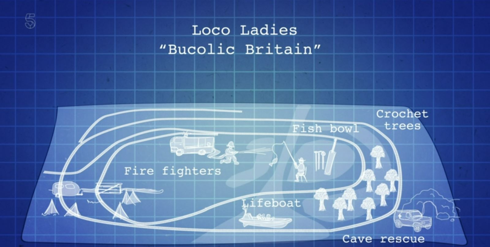 Loco Ladies Bucolic Britain
