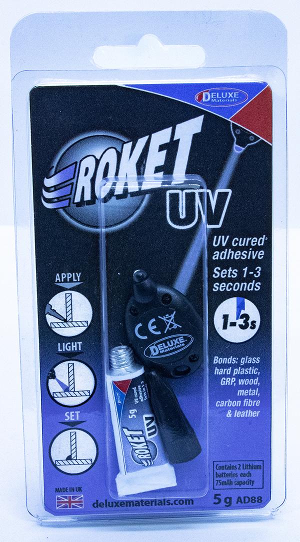 Deluxe Materials UV Roket glue