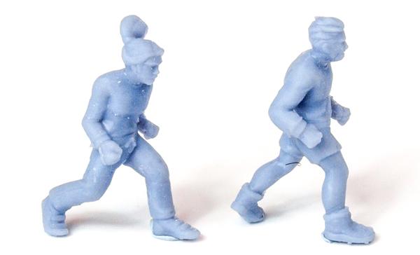 dexters cove models 3D printed joggers figures
