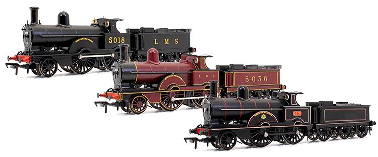 Rails of sheffield locomotion models Improved precedent class locomotive 2-4-0