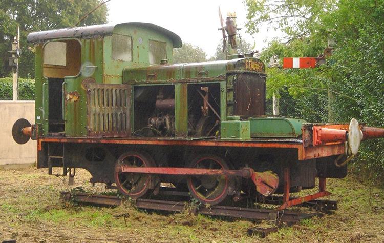 Mid Suffolk Light railway locomotive
