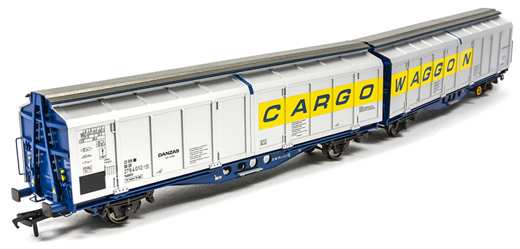 Kernow Model Rail Centre IZA cargowaggon twin