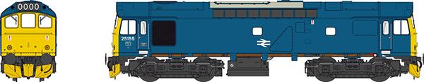 Heljan Class 25