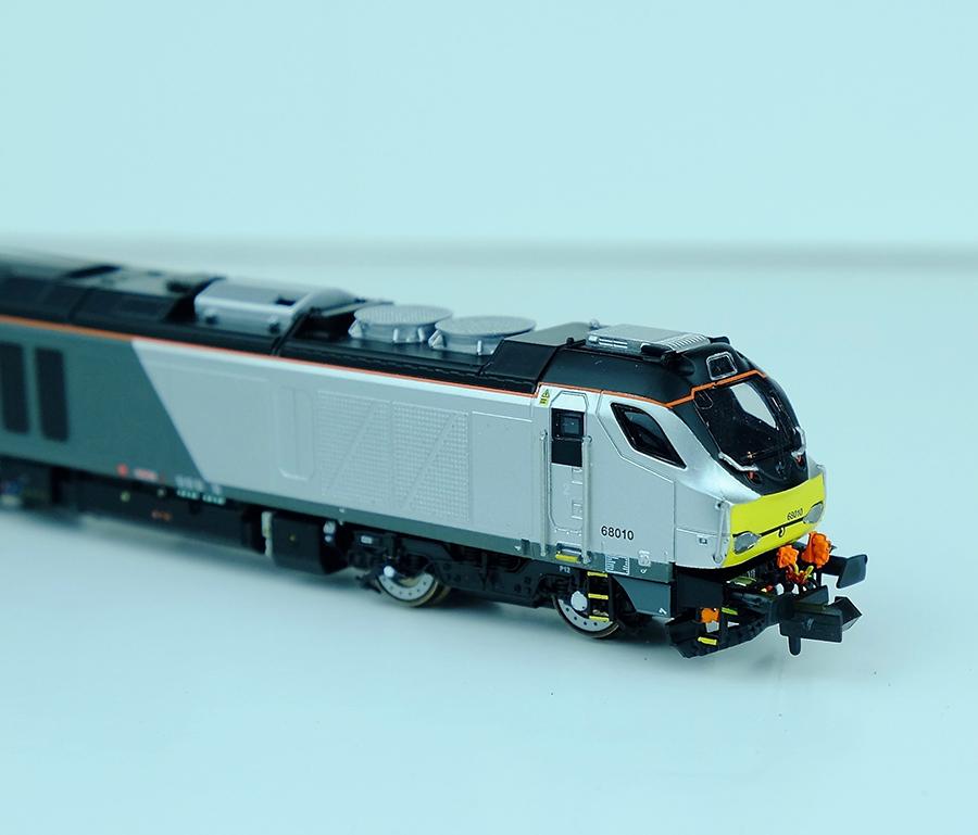Dapol Class 68 model railways modern image N gauge