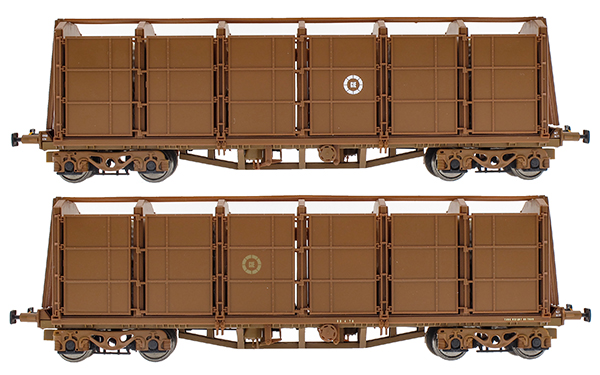 irish railway models CIE fertiliser bogie wagon