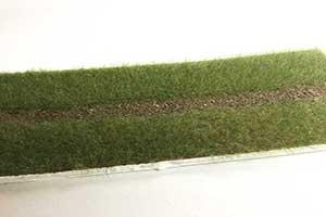 static fibres for model railway hedges