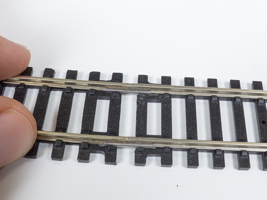 Align Track fishplates
