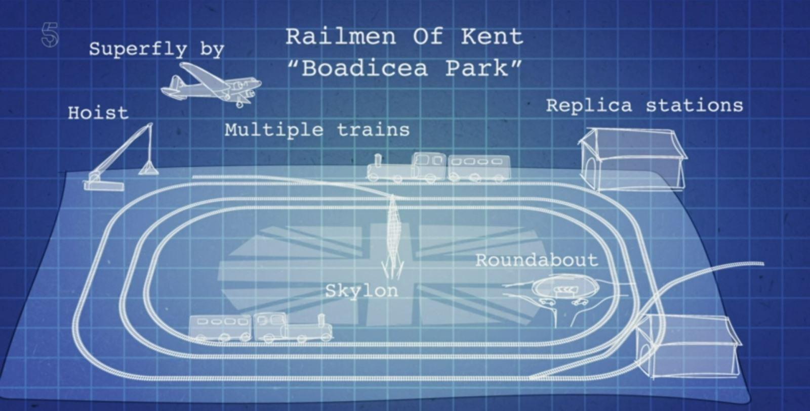 Railmen of Kent Boadicea Park