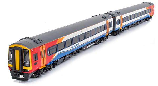 Bachmann Class 158 East Midlands Trains
