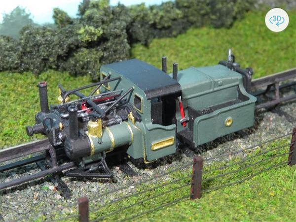 Newman miniatures monorail kit