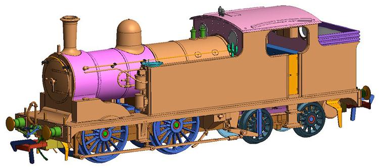 LNER G5 0-4-4T TMC locomotive