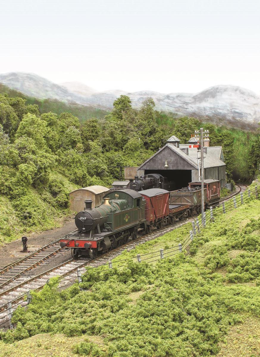 BR Western Region 00 gauge model railway