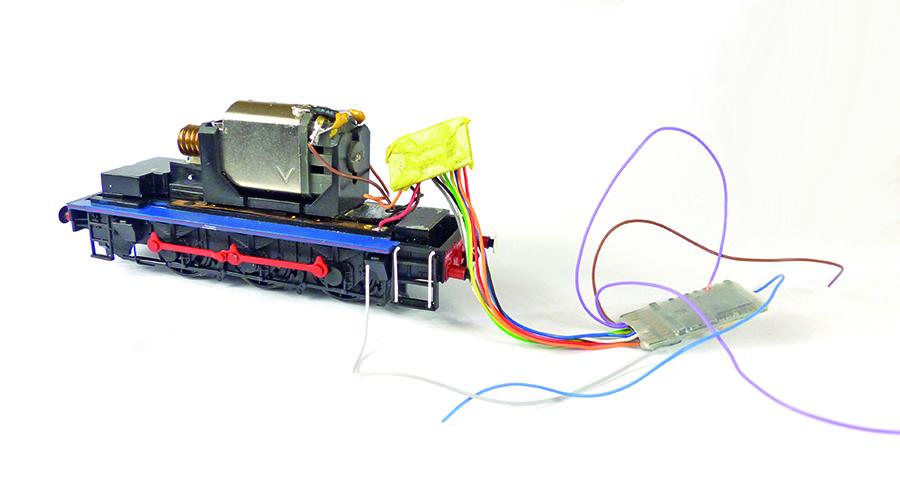 Bachmann Class 08 Zimo MX-645 sound decoder