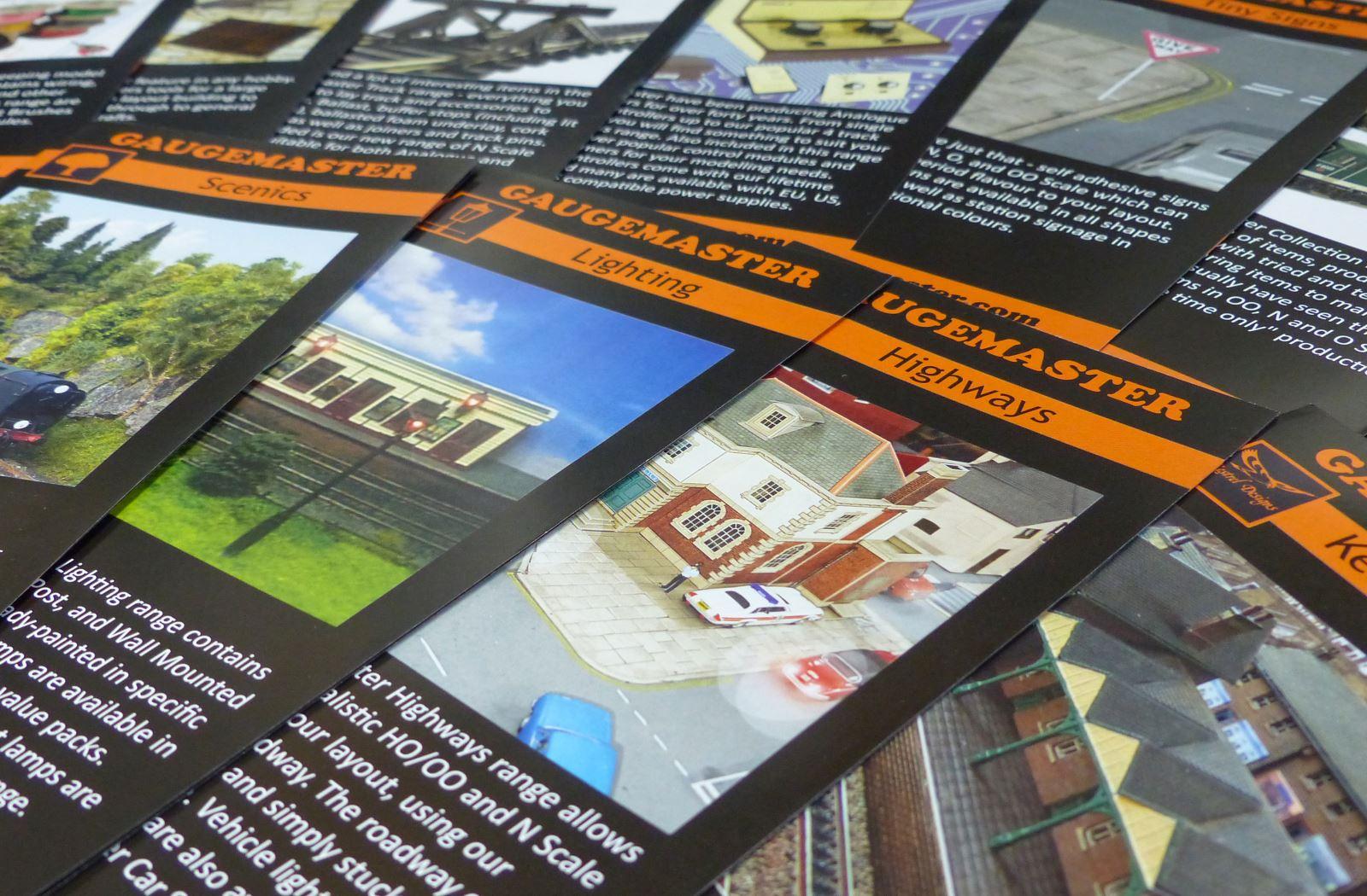 Gaugemaster leaflets