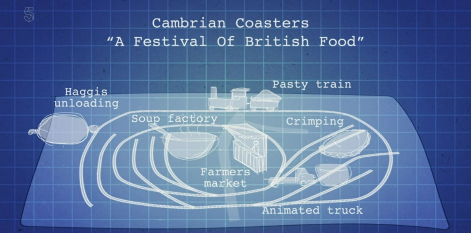 Cambrian Coasters A festival of British food