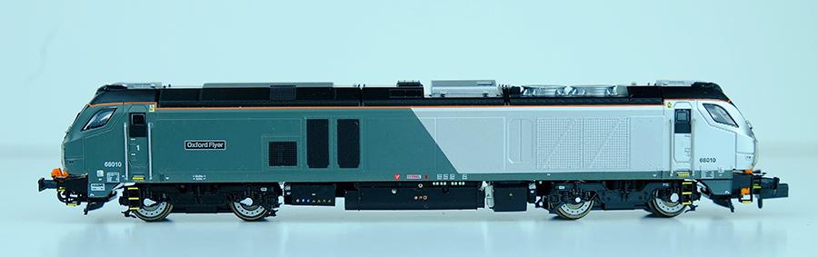 Dapol Class 68 railway modelling N gauge