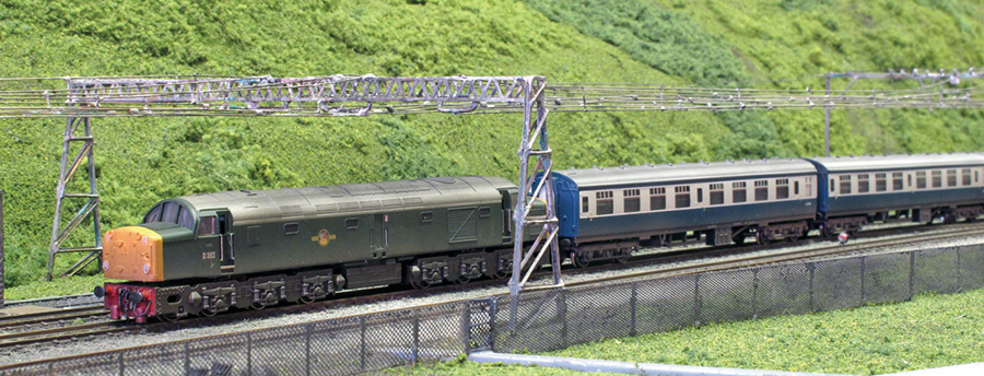 Class 40 Woodhead route