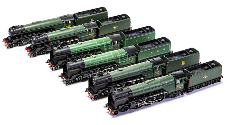 Hornby Thompson A2/2 A2/3 Pacific