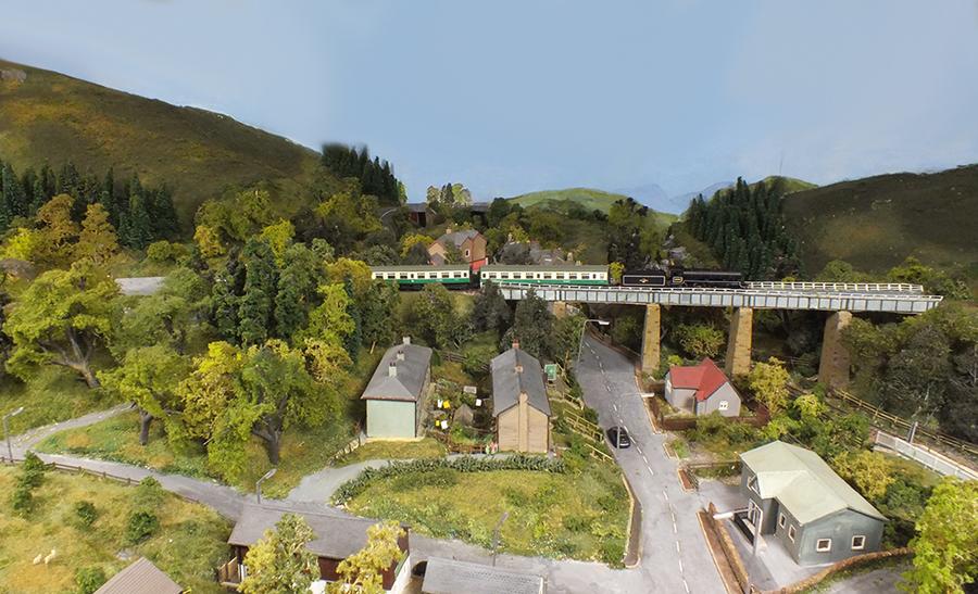 Railtour Loch Oran N gauge model railway