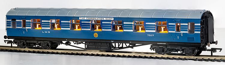 Hornby LMS Coronation Scot coach