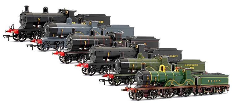Locomotion Models Dapol Rails of Sheffield 4-4-0 D Class