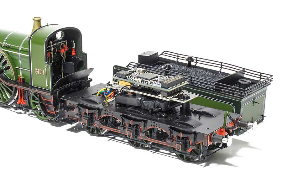 Locomotion Models Sterling Single DCC sound